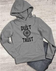 gifts: In Dust We Trust Hoodie!