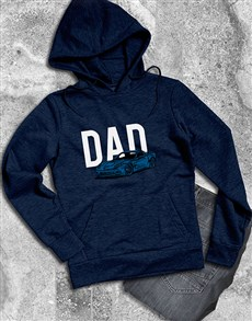 gifts: Dad Sports Car Graphic Hoodie!