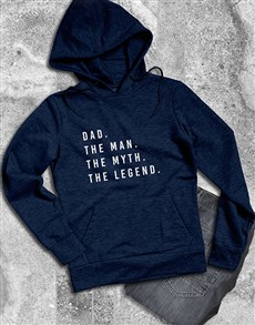 gifts: Dad The Legend Hoodie!