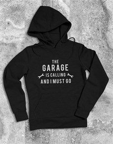 gifts: Garage Is Calling Hoodie!