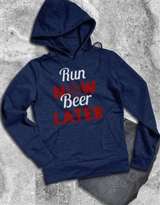 gifts: Run Now Beer Later Hoodie!