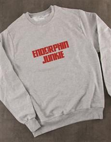 gifts: Endorphin Junkie Sweatshirt!