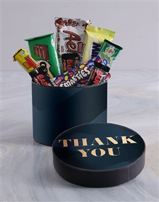 gifts: Thank You Blue Hat Box!