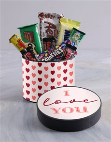 gifts: I Love You Hat Box!