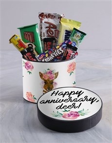 gifts: Anniversary Deer Hat Box!