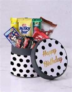 gifts: Polka Dot Birthday Hat Box!