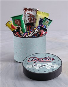 gifts: Favourite Place Hat Box!