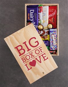 gifts: Big Box of Love Chocolate Crate!