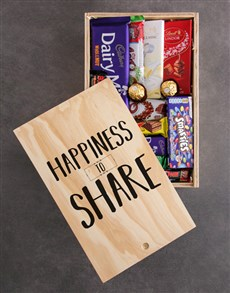 gifts: Happiness to Share Chocolate Crate!