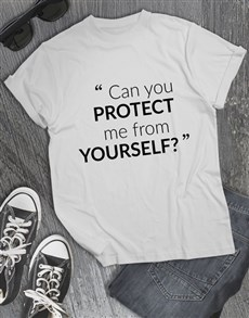 gifts: Protect Me T shirt!