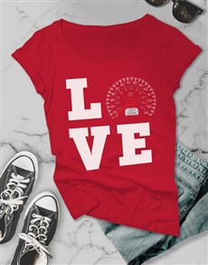gifts: Love Speed Ladies T Shirt!