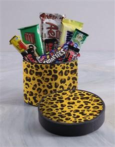 gifts: Cheetah Chocolate Box!
