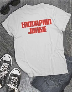 gifts: Endorphin Junkie T Shirt!