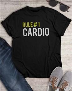 gifts: Rule 1 Cardio T Shirt!
