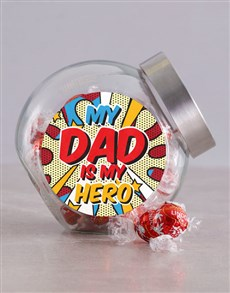 gifts: Superhero Dad Candy Jar!