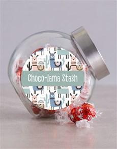 gifts: Chocolama Stash Candy Jar!