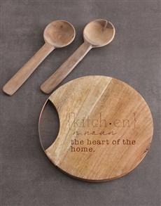 gifts: Kitchen Round Chopping Board!