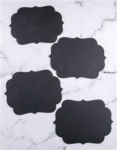 gifts: Blank Chalk Board Placemat!