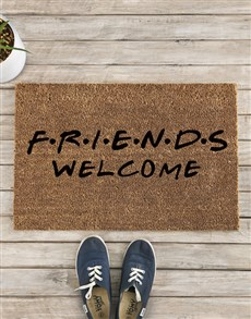 gifts: F.R.I.E.N.D.S Welcome Doormat!