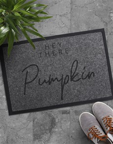 gifts: Hey There Pumpkin Doormat!