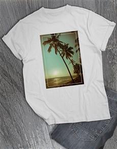 gifts: Beach Sunset T Shirt!