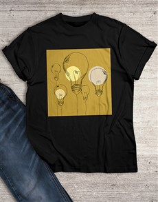 gifts: Lightbulbs T Shirt!