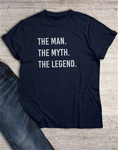 gifts: The Man The Legend T Shirt!