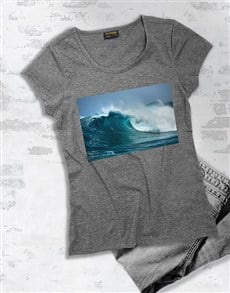 gifts: Ocean Waves T Shirt!