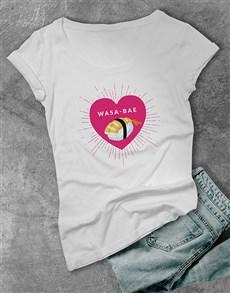 gifts: Wasa bae Ladies T Shirt!