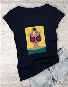 gifts: Flowers In Her Hair Ladies T Shirt!