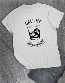 gifts: Call Me Old Fashioned T Shirt!
