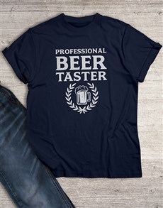 gifts: Professional Beer Taster T Shirt!