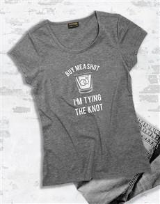 gifts: Buy Me A Shot Ladies T Shirt!