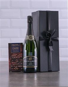 gifts: Black Box of Backsberg Brut Gift!