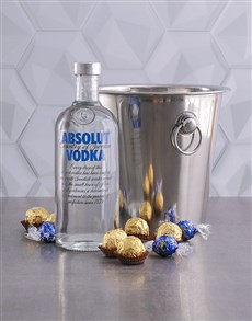gifts: Absolut Vodka Ice Bucket Gift!