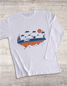 gifts: Jeep Landscape Long Sleeve T Shirt!