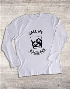 gifts: Call Me Old Fashioned Long Sleeve T Shirt!