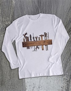 gifts: Vintage Tools Long Sleeve T Shirt!