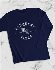 gifts: Frequent Flyer Long Sleeve T Shirt!