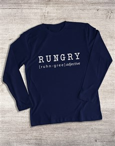 gifts: Rungry Long Sleeve T Shirt!