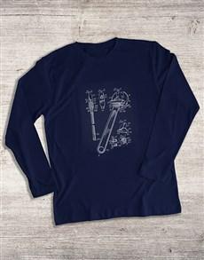 gifts: Blueprint Tools Long Sleeve T Shirt!