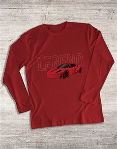 gifts: Boss Race Car Long Sleeve T Shirt!