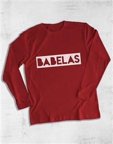 gifts: Babalaas Graphic Long Sleeve T Shirt!