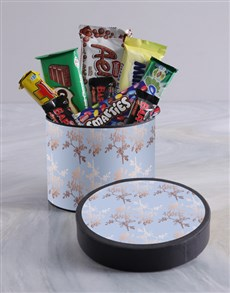 gifts: Floral Wrap Choc Hat Box!