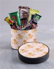 gifts: Classic Floral Wrap Choc Hat Box!