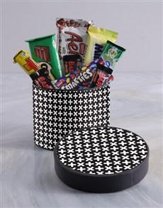 gifts: Pattern Party Wrap Choc Hat Box!