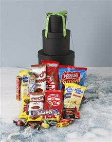 gifts: Get Well Choco Hat Box Tower!