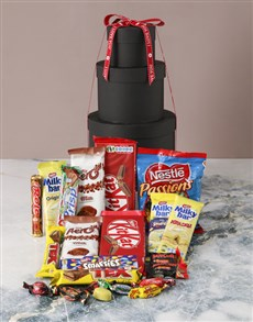 gifts: Love You Choco Hat Box Tower!