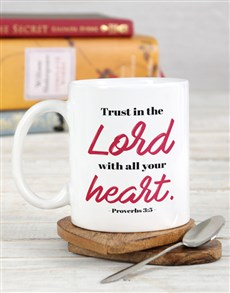 gifts: Trust in the Lord Mug!