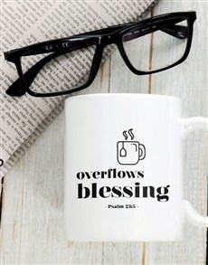 gifts: Overflow With Blessings Mug!